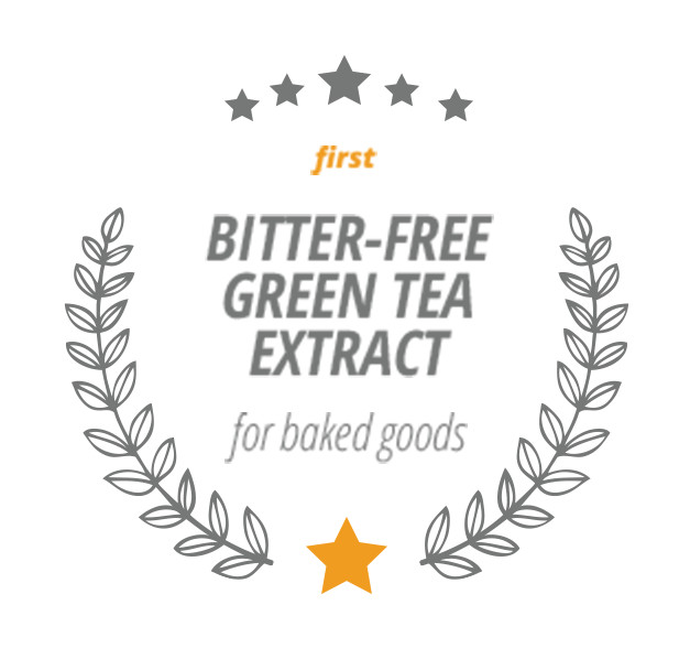 First Bitter-Free Green Tea Extract for Baked Goods