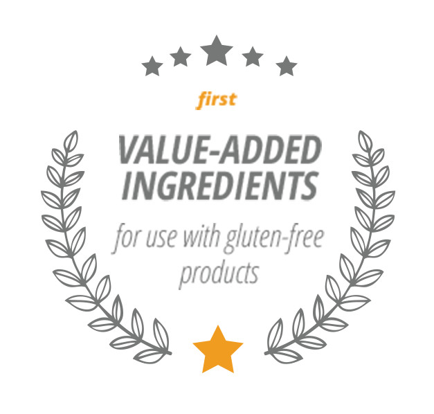First Value-Added Ingredients for use with gluten-free products