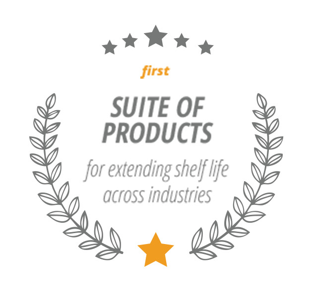 First Suite of Products for extending shelf life across industries